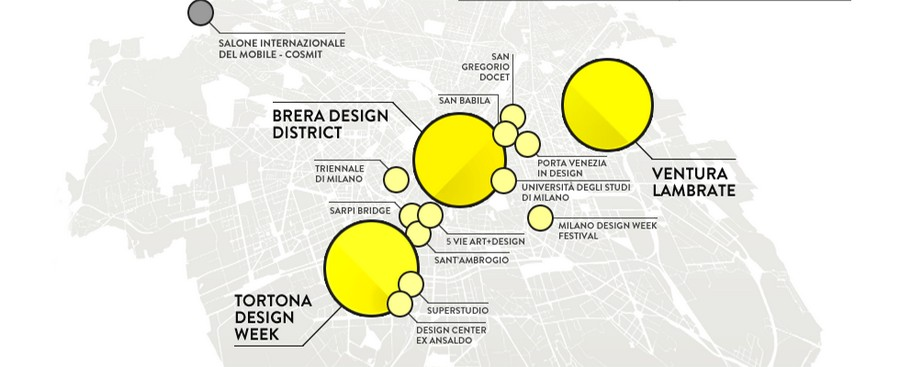 MILAN DESIGN WEEK'S NEWEST DISTRICT: LA REPUBBLICA DEL DESIGN milan design week MILAN DESIGN WEEK'S NEWEST DISTRICT: LA REPUBBLICA DEL DESIGN Mappa zone Fuorisalone 2015 Guida Design Week milano
