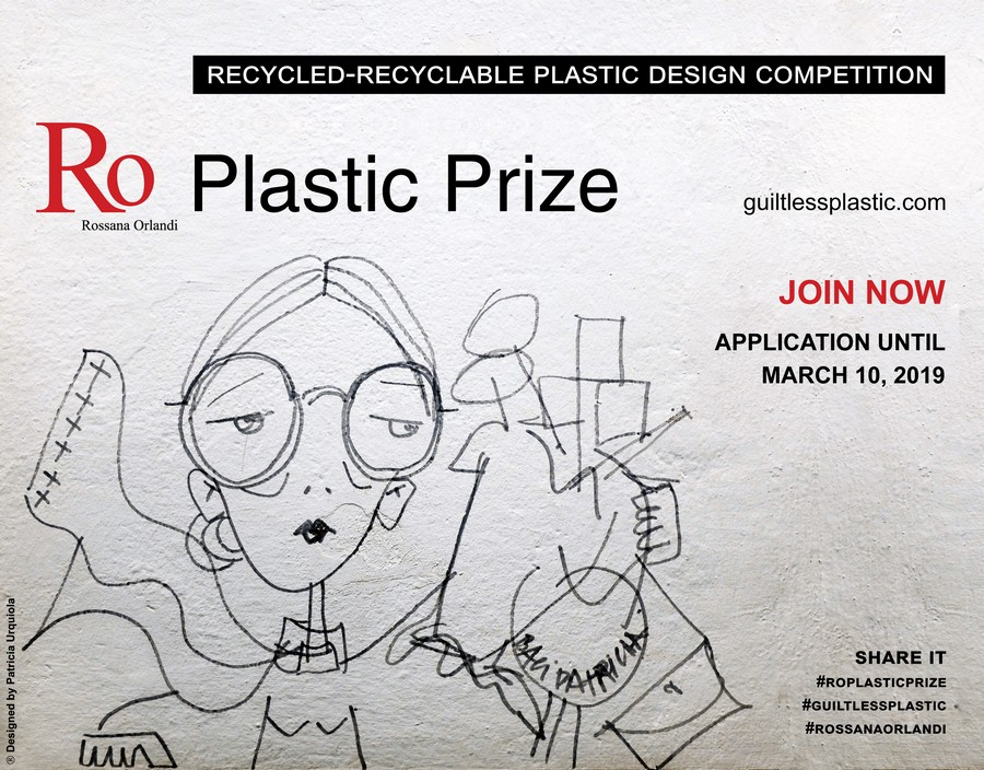 milan design week Milan Design Week 2019: know some open calls to young designers Ro Plastic Prize 2019 HR