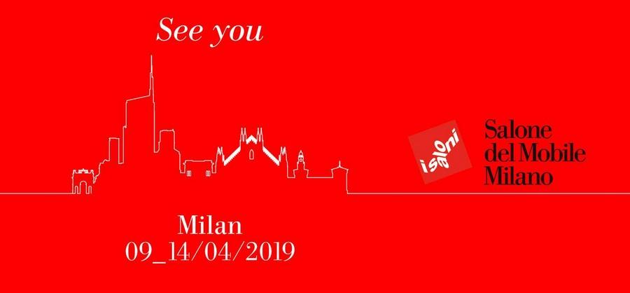 Salone del Mobile 2019 will be honoring Leonardo Da Vinci salone del mobile Salone del Mobile 2019 will be honoring Leonardo Da Vinci big 81530 seeyou milano2019 red