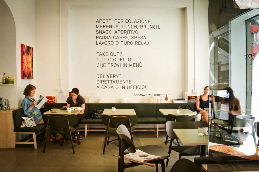 milan design week See some of the best places to eat in Tortona during Milan Design Week god save the food wall
