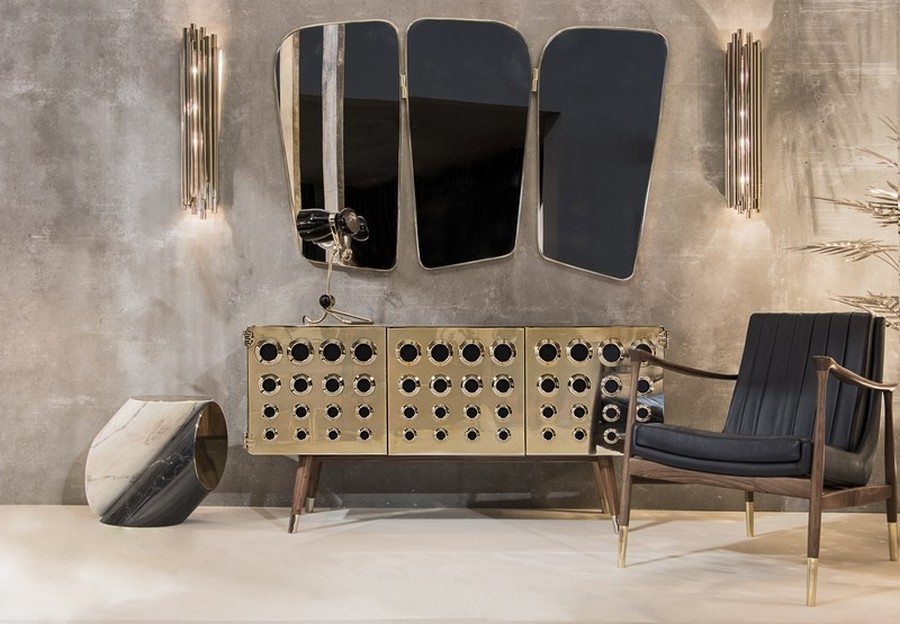 italian furniture design DIVE INTO THE WORLD OF HIGH-END ITALIAN FURNITURE DESIGN Interior Design Tips Two Moodboards Inspired by the Mid Century Style 3