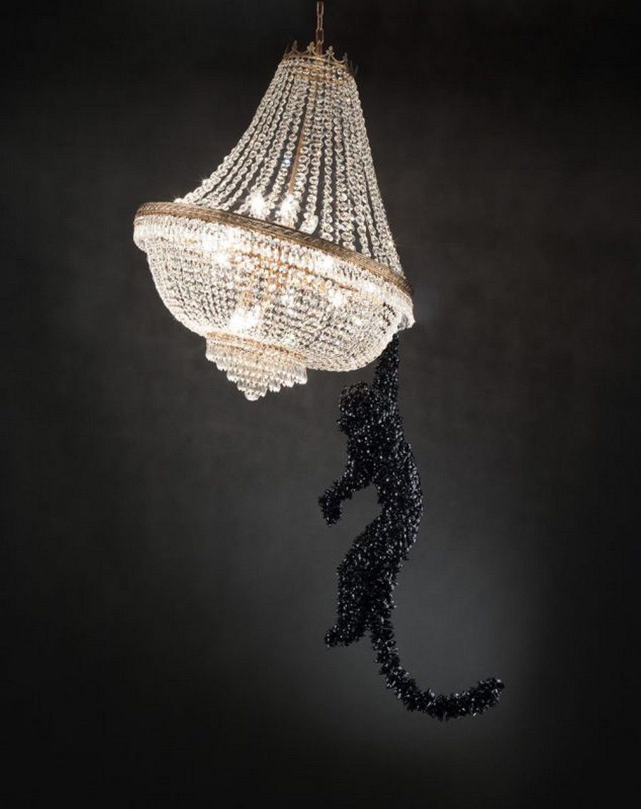 italian craftsmanship The Most Exquisite Italian Craftsmanship the world has seen Surprising Contemporary Art and Design Barford Jungle VIP Chandelier