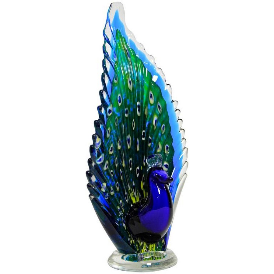 italian craftsmanship The Most Exquisite Italian Craftsmanship the world has seen The Most Exquisite Italian Craftsmanship Murano Glass Peacock