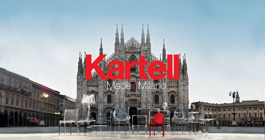 milan design week Kartell is celebrating its 70th anniversary at Milan Design Week splash