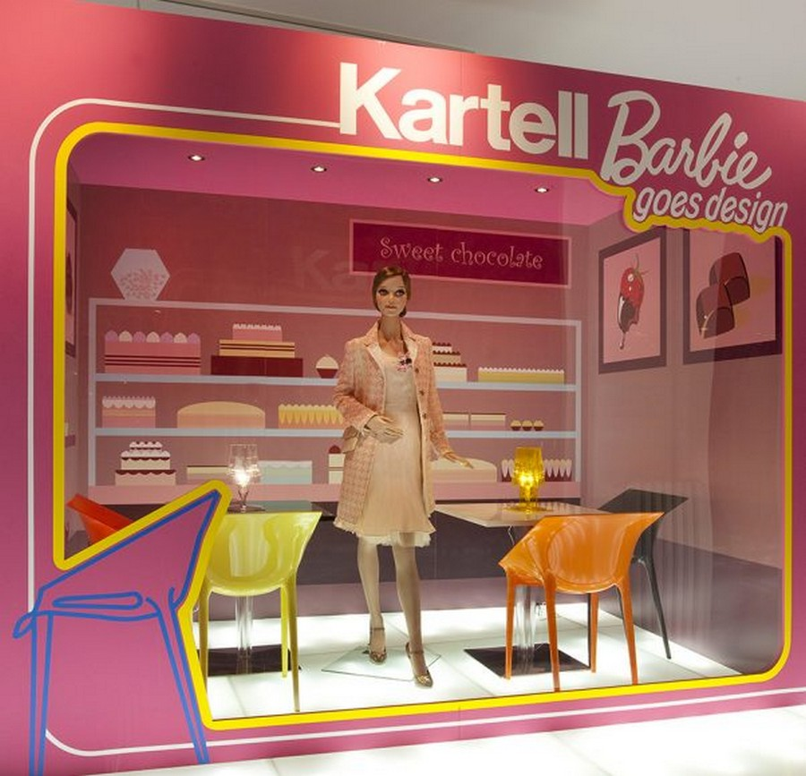 milan design week Milan Design Week: A lookback at the novelties from some top brands (Part 2) Barbie allestimento 02 602x580