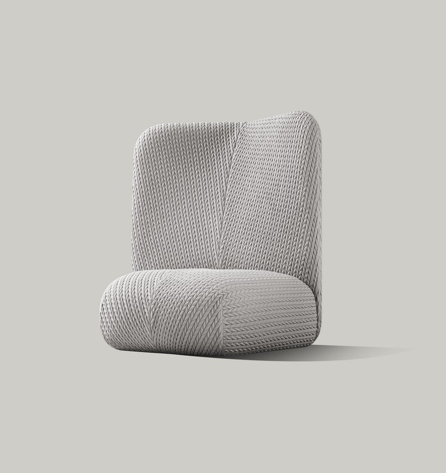 miniforms Have a look at the new furniture pieces by Miniforms Botera High Esedra Tricot Gray