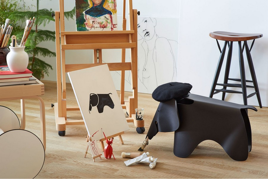 milan design week Milan Design Week: A lookback at the novelties from some top brands (Part 2) Eames Elephant2