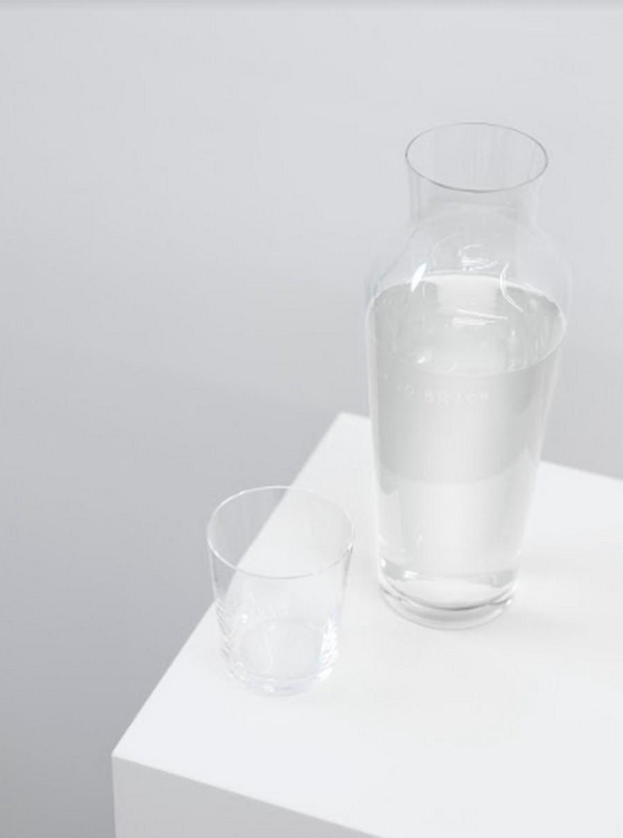 normann copenhagen Have a look at Normann Copenhagen's novelties for Milan Design Week GUDRUN HASLE CARAFE AND GLASS2