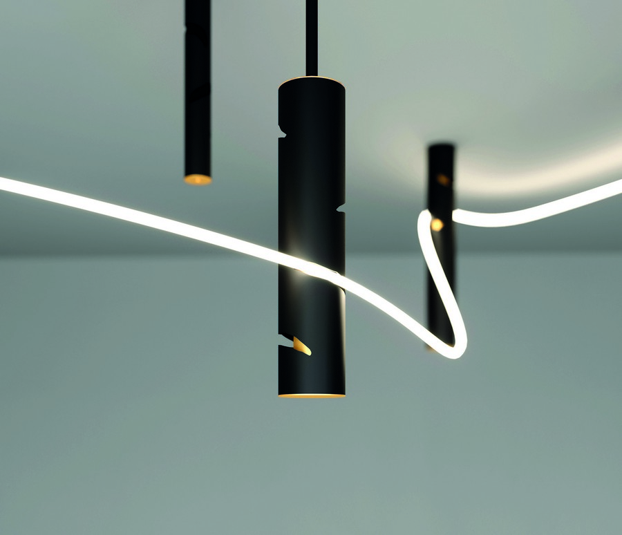 artemide A look into some of the top collections presented by Artemide Interweave 001