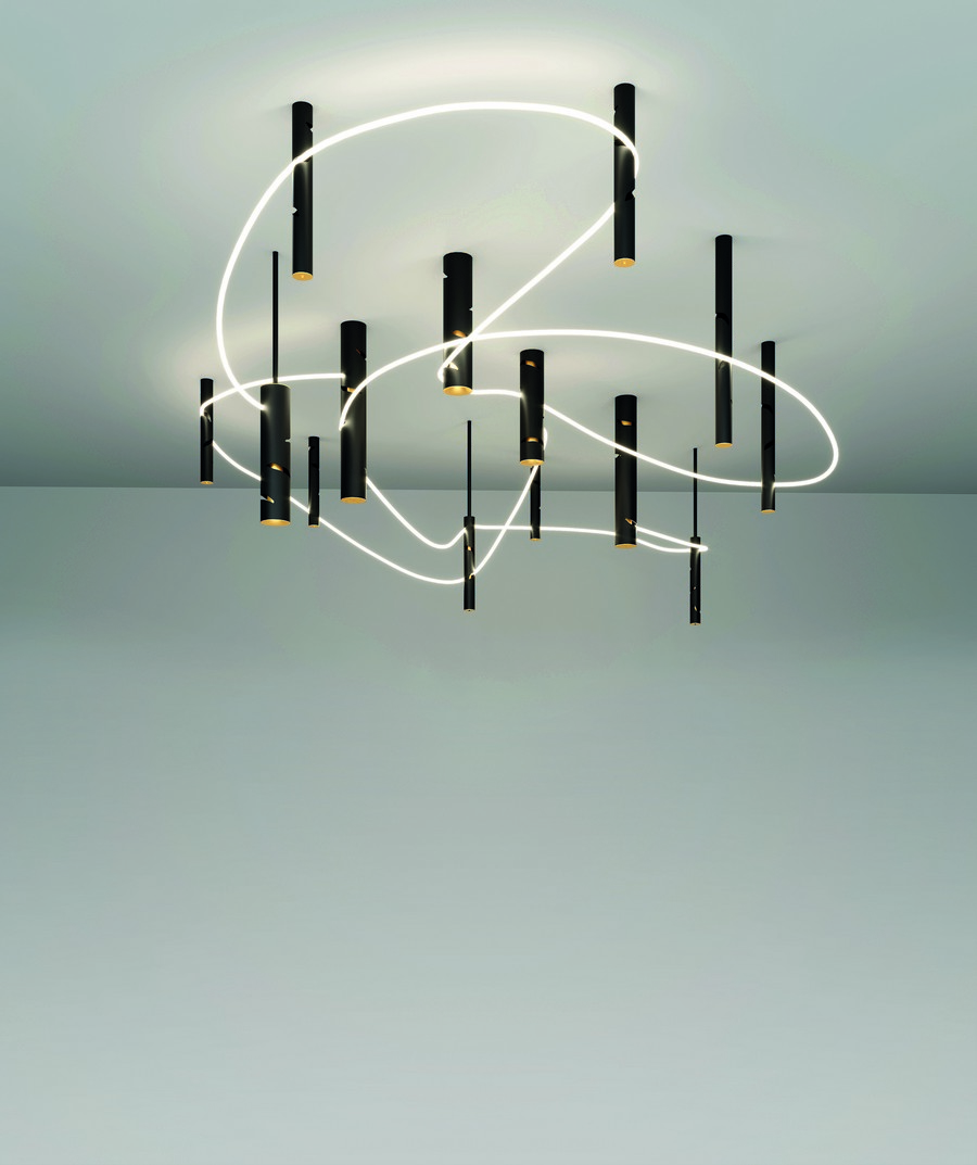 artemide A look into some of the top collections presented by Artemide Interweave 004