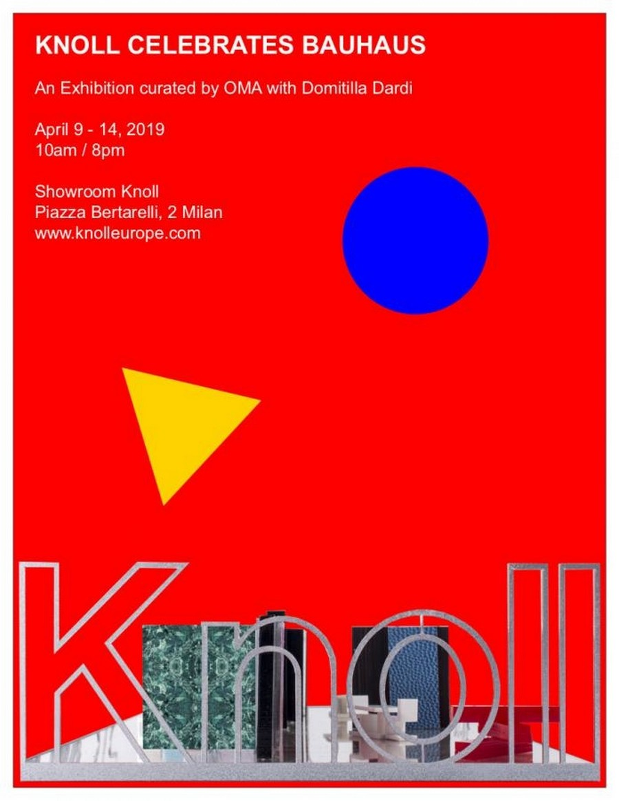 Milan Design Week 2019: don't miss these events from 9-11th of April milan design week Milan Design Week 2019: don't miss these events from 9-11th of April Knoll