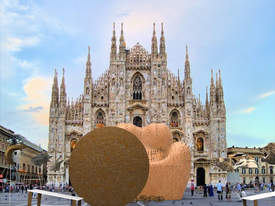 milan design week Milan Design Week: have you seen the Up Armchair at the Duomo? chair4