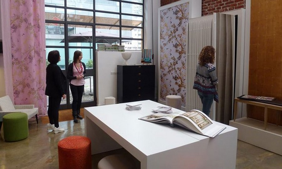 elitis Have you seen Elitis' amazing showroom in Milan city? 001 Elitis showroom milan 666x400