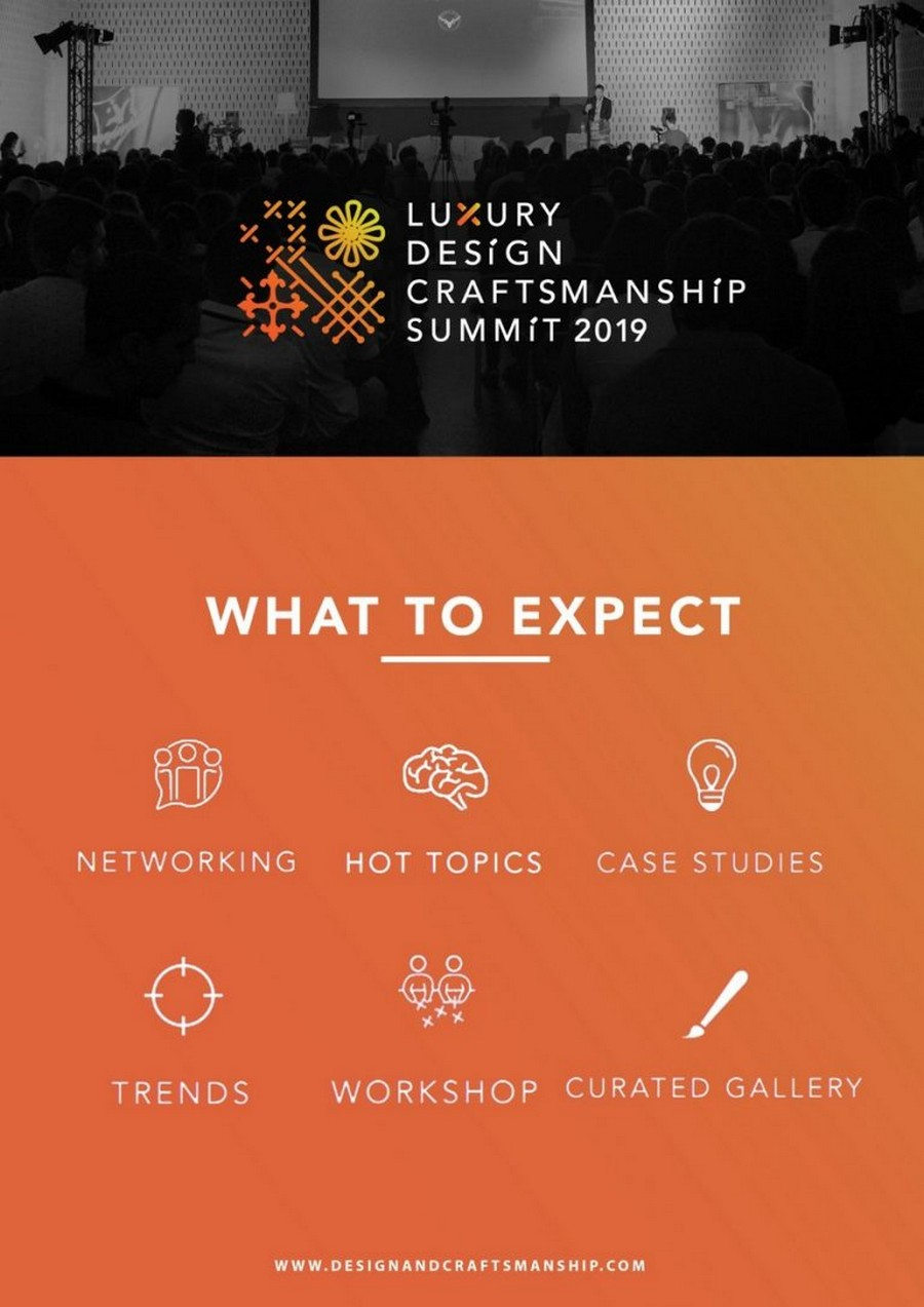 craftsmanship summit Know more about the Luxury Design & Craftsmanship Summit 2019 Craftsmanship4