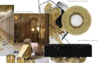 Gold Accents: Give a Whole New Glamour to your Living Room