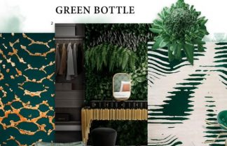 Bring nature into the house with the Bottle Green trend