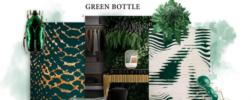 Bring nature into the house with the Bottle Green trend bottle green Bring nature into the house with the Bottle Green trend Bring nature into the house with the Bottle Green trend 6 980x390