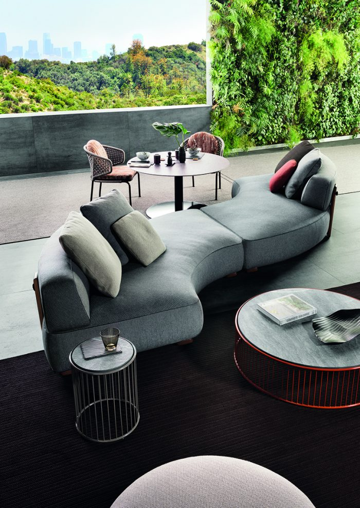 outdoor living outdoor living Embrace Sophisticated Elegance and Comfort w/ Minotti's Outdoor Living Minotti outdoor 4 700x987