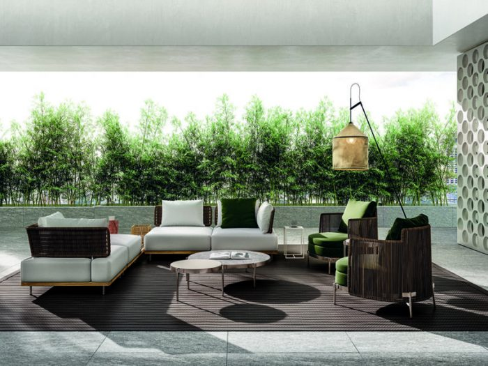 outdoor living Embrace Sophisticated Elegance and Comfort w/ Minotti's Outdoor Living Minotti outdoor 5 700x525