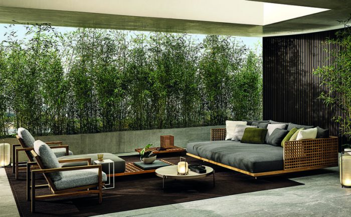 outdoor living outdoor living Embrace Sophisticated Elegance and Comfort w/ Minotti's Outdoor Living Minotti outdoor 6 700x433