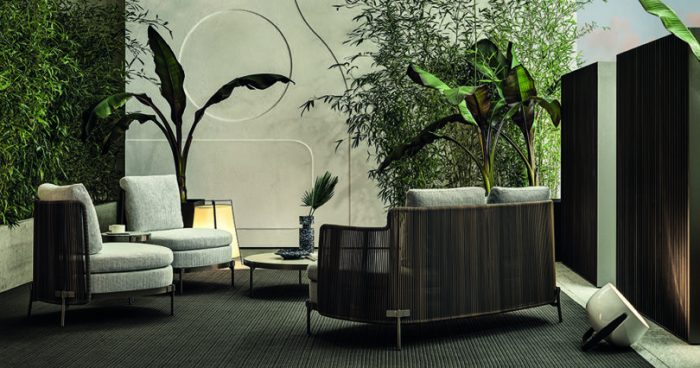 outdoor living outdoor living Embrace Sophisticated Elegance and Comfort w/ Minotti's Outdoor Living Minotti outdoor 7 700x368