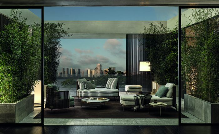 outdoor living outdoor living Embrace Sophisticated Elegance and Comfort w/ Minotti's Outdoor Living Minotti outdoor 8 700x431