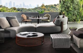 Embrace Sophisticated Elegance and Comfort w/ Minotti's Outdoor Living