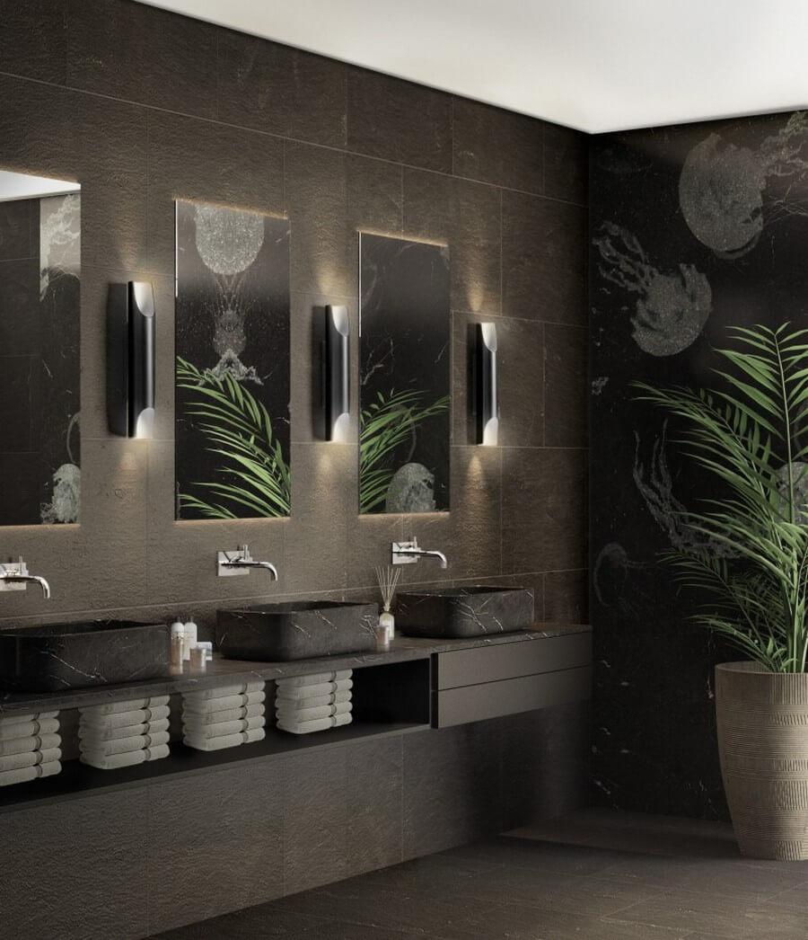 Timeless Bathroom Designs by AIM Studio aim studio Timeless Bathroom Designs by AIM Studio Timeless Bathroom Designs by AIM Studio 7